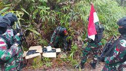 Satgas Yonif 642/Kapuas Temukan 42,9 Kg Sabu di Perbatasan RI-Malaysia Kalbar