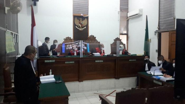 Sidang kasus dugaan penyebaran video syur Gisel-Nobu (Dwi Andayani-detikcom)