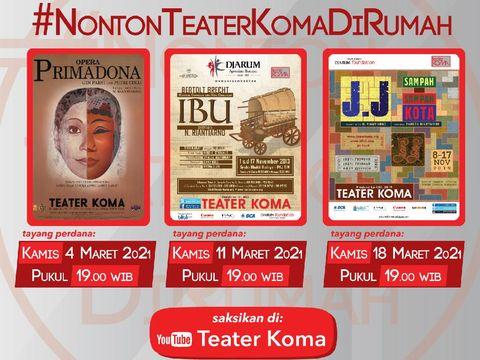 Teater Koma Rayakan Hari Jadi Lewat Festival 44