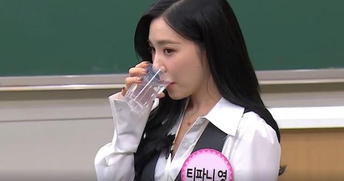 Wow! Tiffany SNSD Bisa Bedakan Air Mineral dari Berbagai Merek