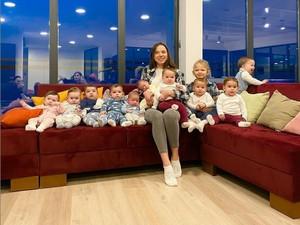 Most Pop: Christina Ozturk, Wanita Rusia yang Punya 11 Anak di Usia 23 Tahun
