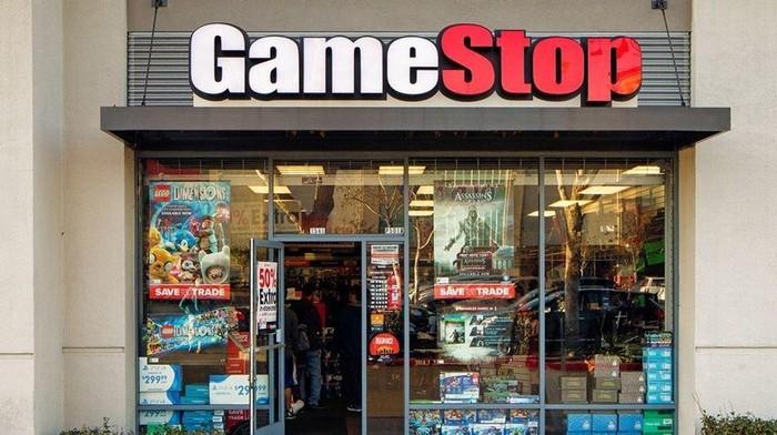 Ilustrasi Toko GameStop di Amerika. GameStop akan membuka e-commerce.