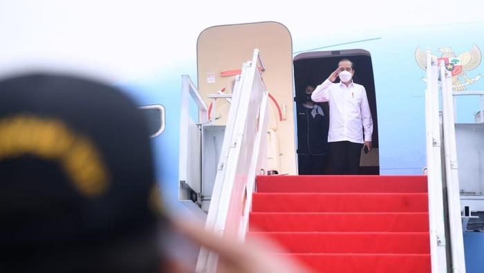 Jokowi Bertolak ke DIY