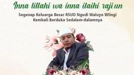 Nakes RSUD Ngudi Waluyo Meninggal Setelah 8 Hari Berjuang Melawan COVID-19
