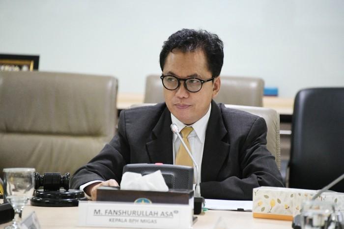 Kepala BPH Migas Fanshurullah Asa