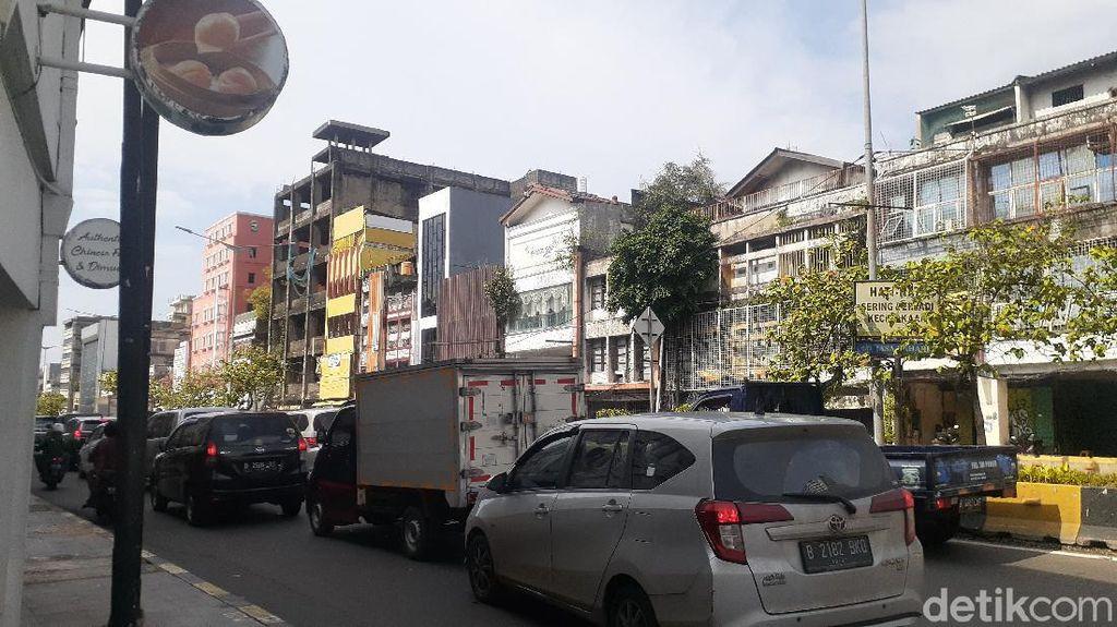 Jelang Sore, Sekitar Kawasan Kota Tua Jakarta Macet hingga Glodok