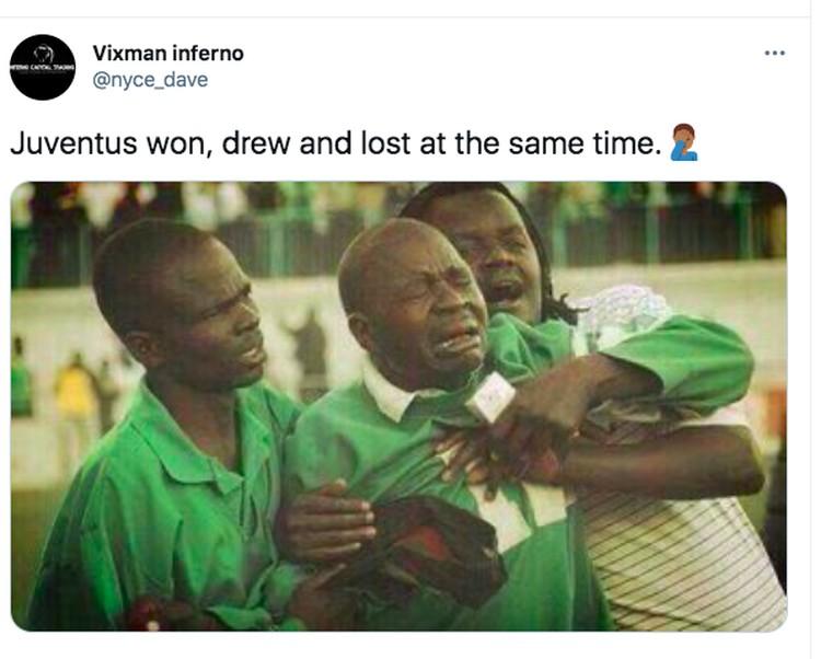 Meme Juventus Ronaldo