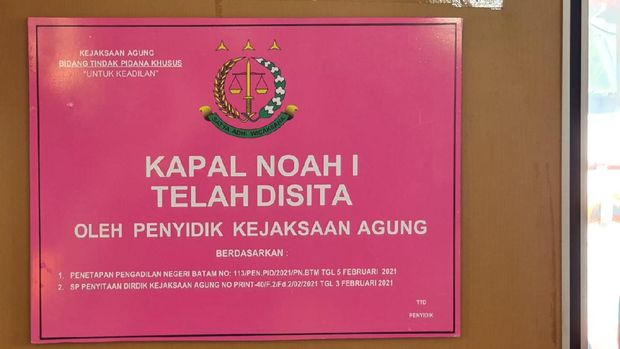 Penyitaan 13 kapal milik tersangka korupsi Asabri Heru Hidayat