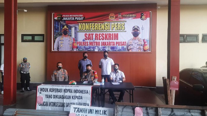 Polisi mengungkap identitas pendana mafia tanah di Kemayoran, Jakpus telah diketahui.