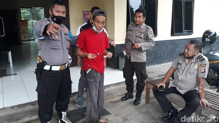 Pria ODGJ diamankan Polres Serang karena mencoret masjid