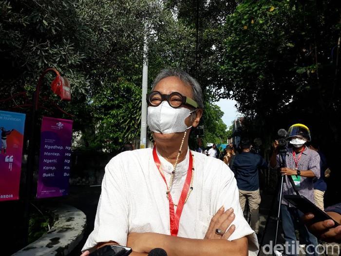 Ratusan Seniman Yogyakarta Divaksinasi di PSBK Kasihan, Bantul, Yogyakarta