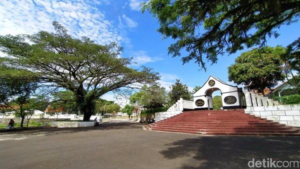 Lokasi Situs Jambansari berada di pusat perkotaan Ciamis. (Dadang Hermansyah/detikcom)