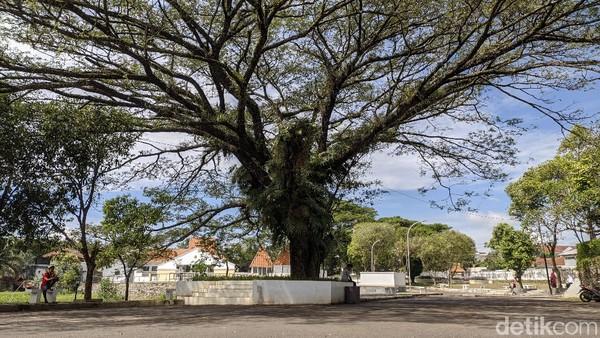 Keberadaan Taman Situs Jambansari ini pun menambah ruang terbuka di Ciamis. (Dadang Hermansyah/detikcom)