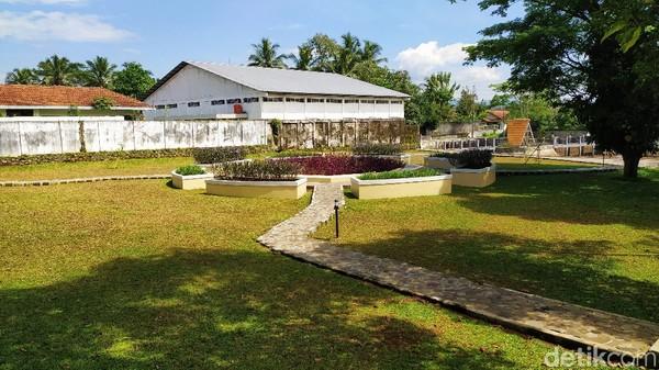 Kini, Situs Jambansari ramai oleh warga yang melakukan aktivitas olahraga, bersantai, nongkrong hingga berfoto-foto. (Dadang Hermansyah/detikcom)