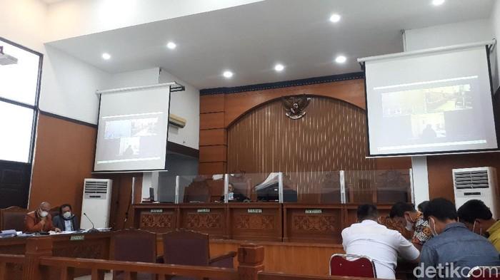 Suasana sidang praperadilan Habib Rizieq (Dwi Andayani/detikcom)