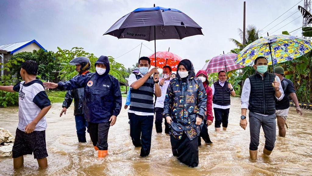 Hujan Lebat, 6 Kecamatan di Maros Sulsel Terendam Banjir
