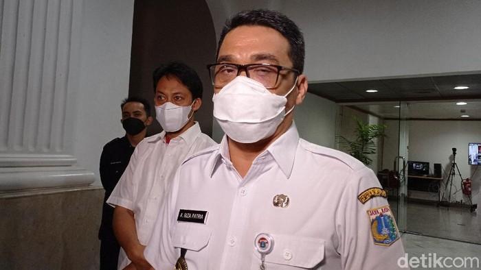 Wakil Gubernur DKI Ahmad Riza Patria.