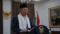 Maruf Amin Sudah Diajak Bicara Jokowi soal Reshuffle Kabinet