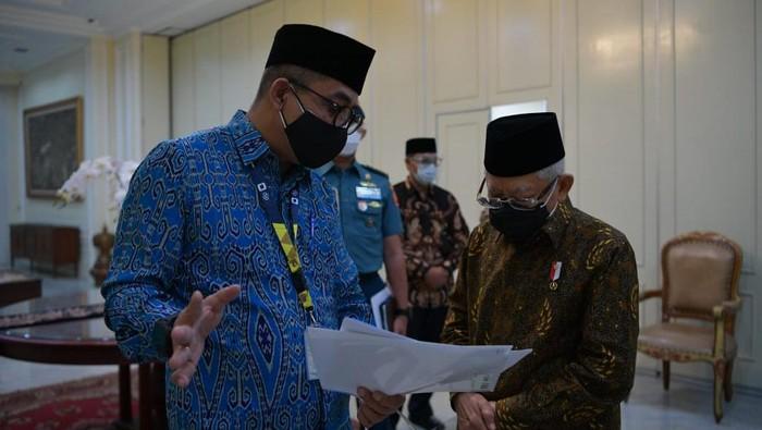 Wapres Maruf Amin laporkan SPT pajak tahunan