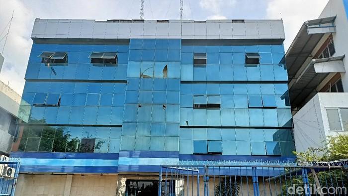Bangunan yang dijadikan Kantor DPP Demokrat oleh kubu Moeldoko