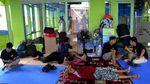 Penampakan Banjir Terjang  Makassar