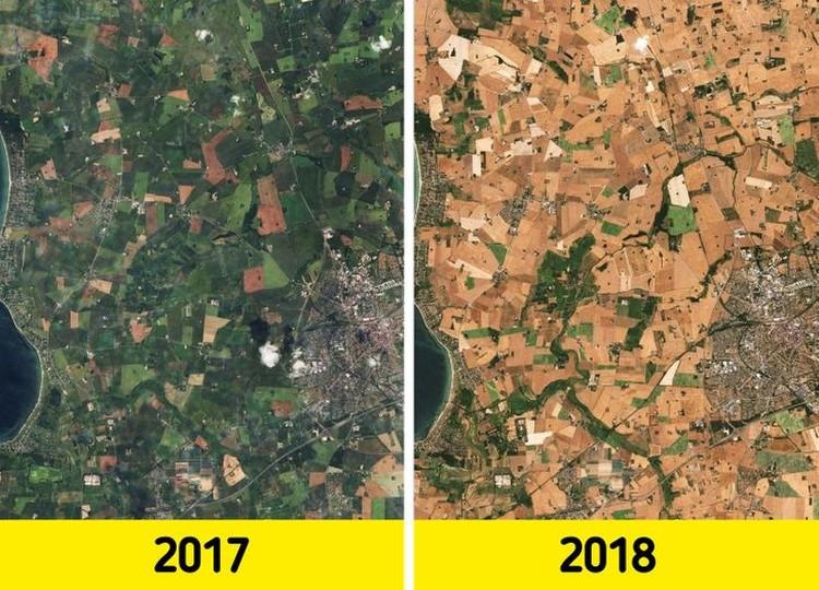 Bukti terjadi perubahan iklim di Bumi