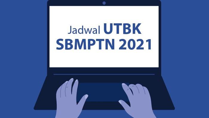 INfografis Jadwal UTBK SBMPTN 2020