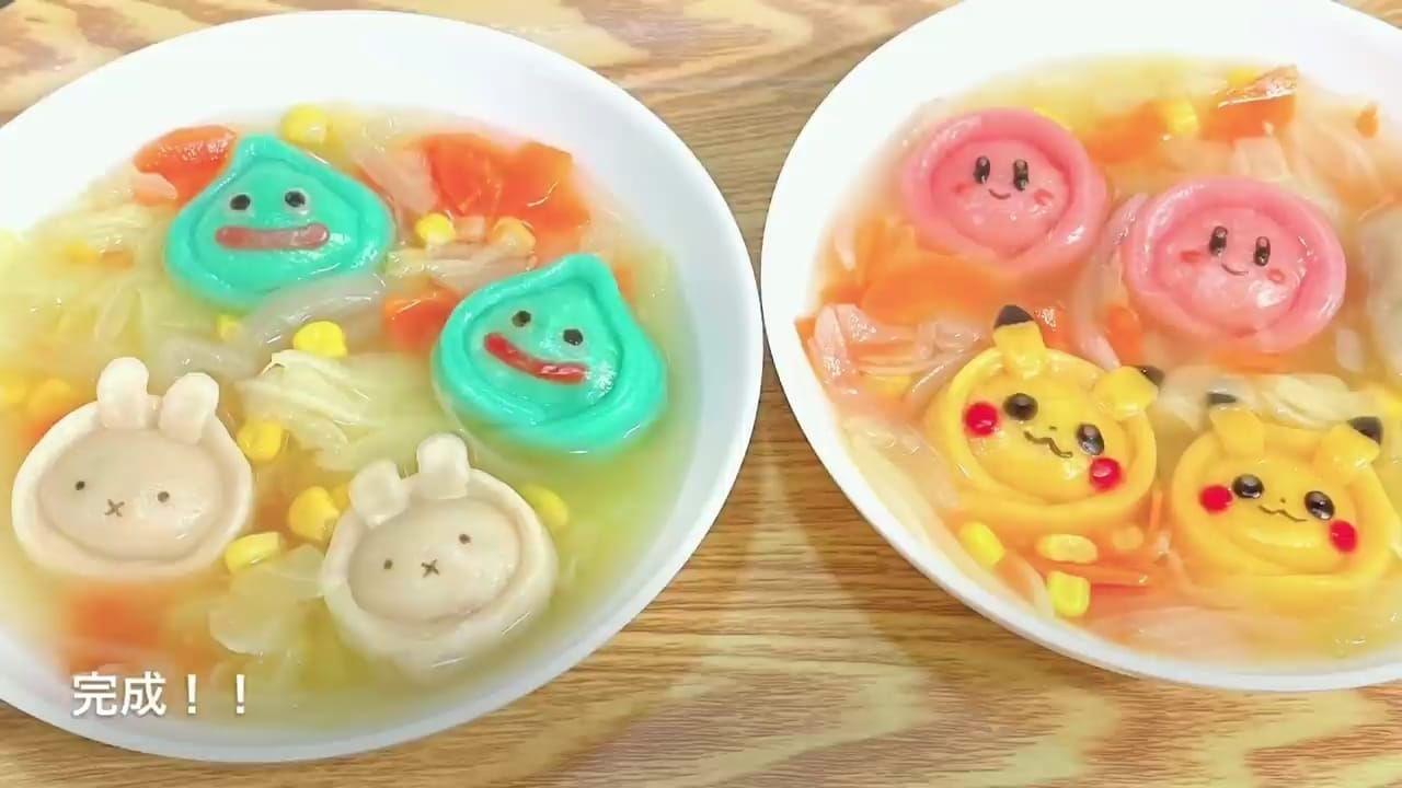 Lucu Banget! Dumpling Bentuk Pikachu dan Kirby Ini Bikin Tak Tega Memakannya