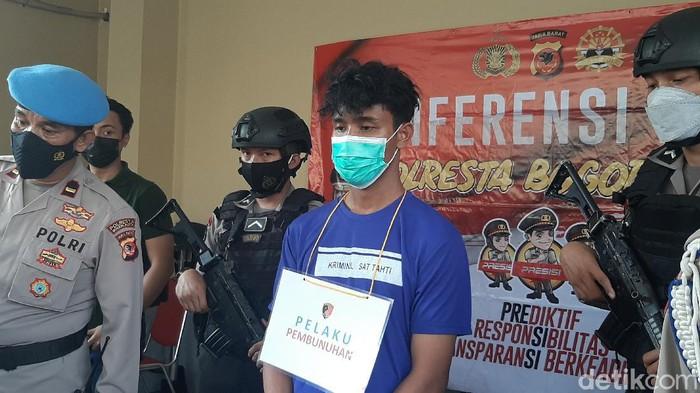 Pelaku pembunuhan di Bogor.