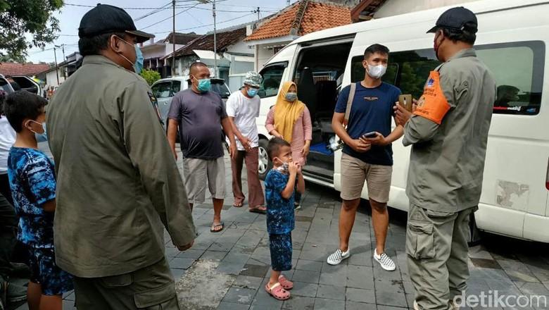 Satpol PP Yogya Periksa Wisatawan