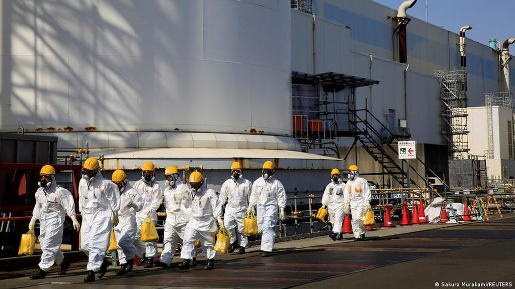 China Geram, Jepang Mau Buang Limbah Nuklir ke Samudra Pasifik