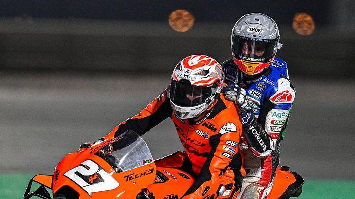 Alex Marquez terjatuh di hari keempat tes MotoGP 2021