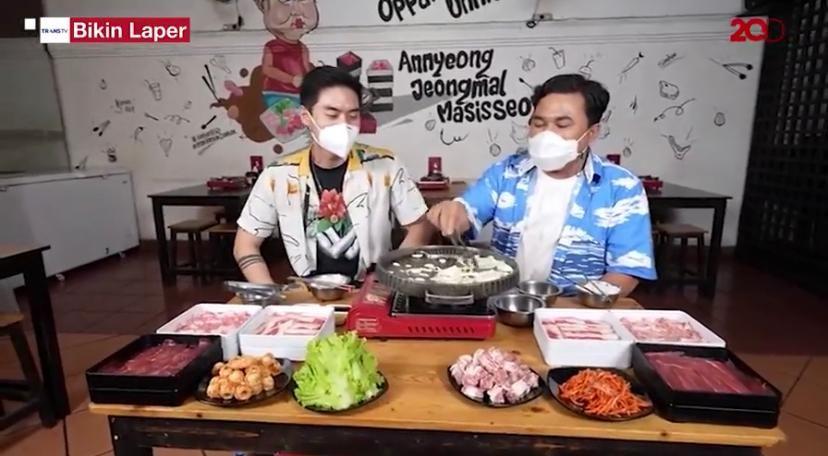 Bikin Laper! Ncess Nabati Makan Korean BBQ Premium Enak Sepuasnya