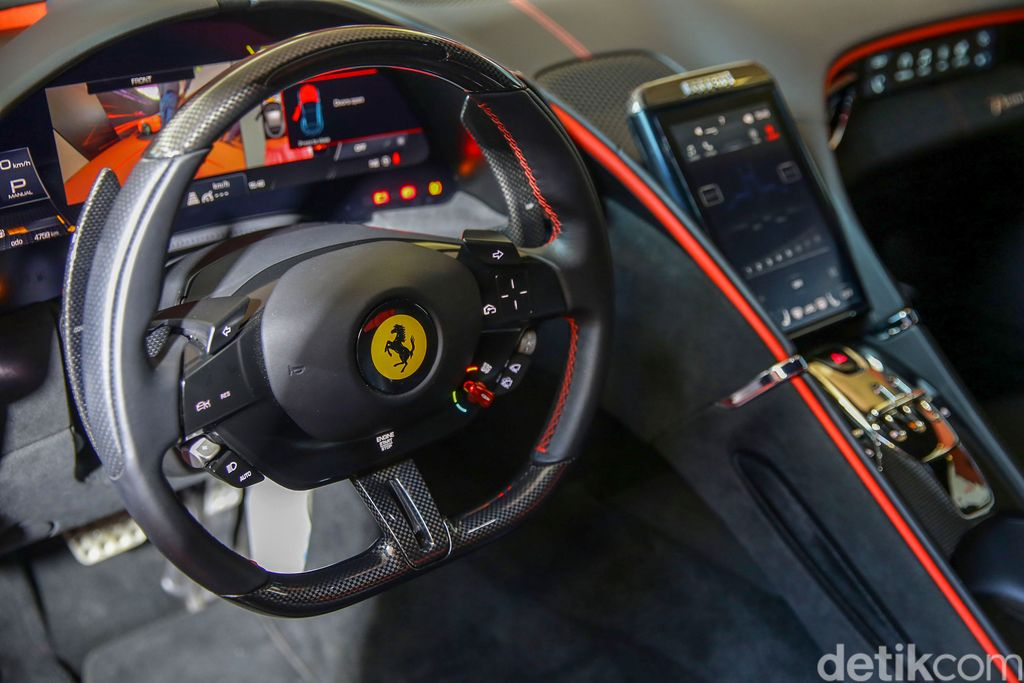 Penampakan Ferrari Roma
