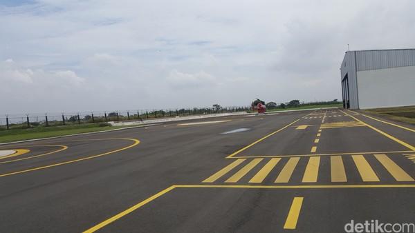 Heliport Cengkareng baru selesai dibangun pada Agustus 2020.