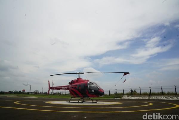 Cengkareng Heliport atau kita menyebutnya CHP menjadi satu-satunya heliport yang berada di samping Bandara Soetta.