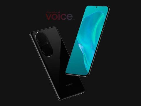 Bocoran render desain Huawei P50 dan P50 Pro