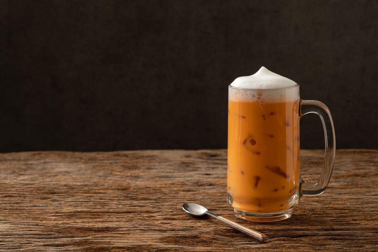 Ilustrasi thai tea