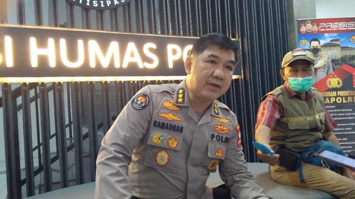 Kabag Penum Divisi Humas Polri Kombes Ahmad Ramadhan (Adhyasta-detikcom)