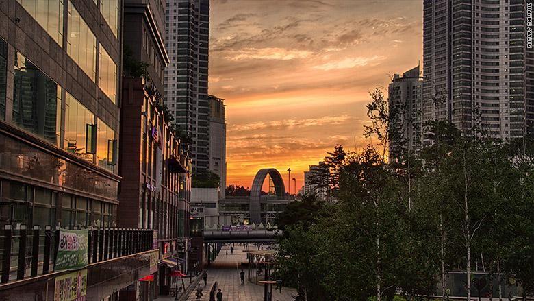 Kota Hwaseong Korea Selatan