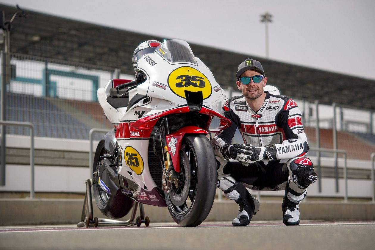 Motor MotoGP Yamaha Edisi 60 Tahun