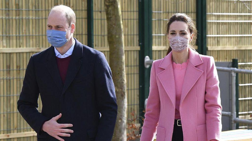 Kate Middleton Disebut Bikin Nangis Meghan Markle, Pangeran William Lakukan Ini