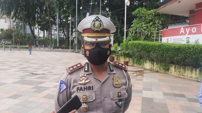 Polisi kejar pengemudi mobil yang tabrak lari pesepeda di HI