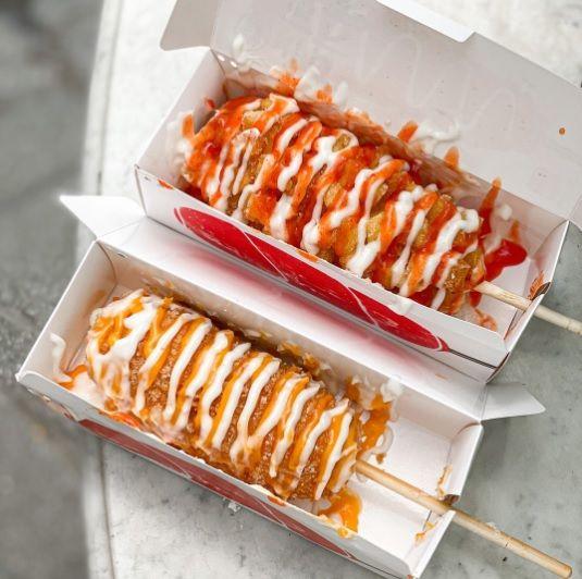 rekomendasi corn dog enak di Jakarta dan sekitarnya