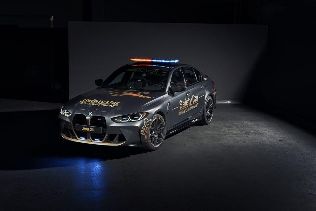 Safety Car dan Safety Bike MotoGP 2021 dari BMW