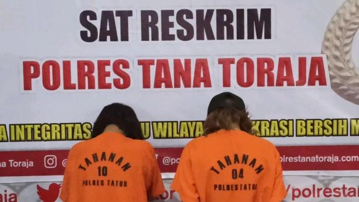 Dua tersangka TPPO gadis di bawah umur di Tana Toraja