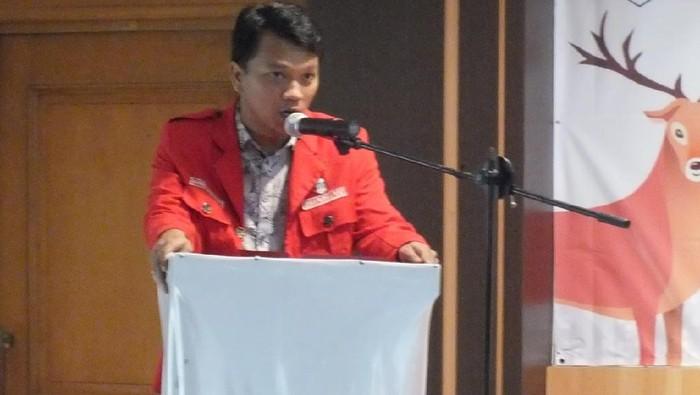 Ketua Umum GMNI Imanuel Cahyadi (Sumber: situs web GMNI)