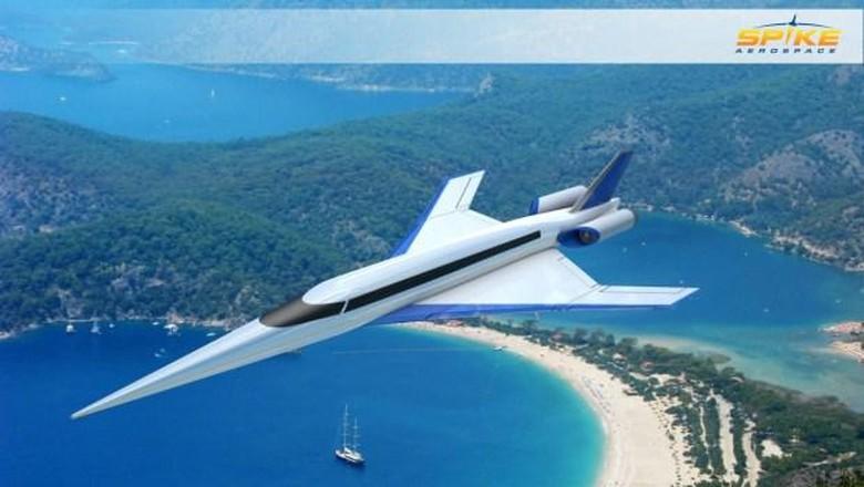 Pesawat jet supersonik buatan Inggris.