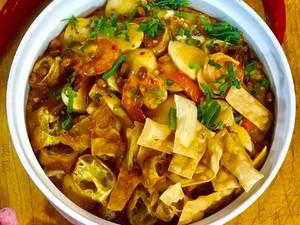 Masak Masak : Bubur Seafood yang Pedas Gurih Mantap