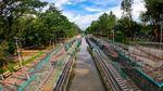 Potret Warga Habiskan Akhir Pekan di Taman Kota 2 BSD